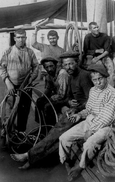 Cabanyal fisherman - circa 1910