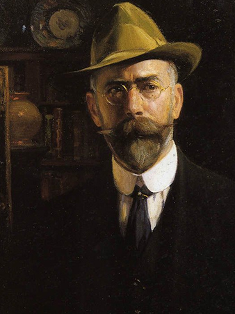 Jose Benlliure y Gil 1917 self portrait