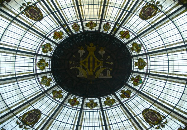 Post office dome in centre